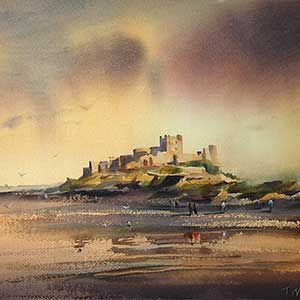 Bamburgh Castle Northumberl
