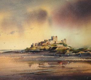 Bamburgh Castle Northumberland 600x523