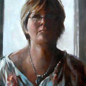 Darlas.The Artists wife
