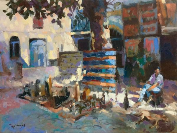 Market Square in Essaouira Morocco