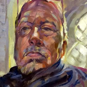 Self-Portrait Trevor Waugh oil painting