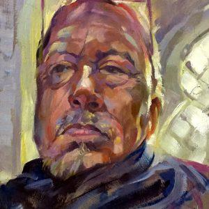 Self-Portrait Trevor Waugh oil painting