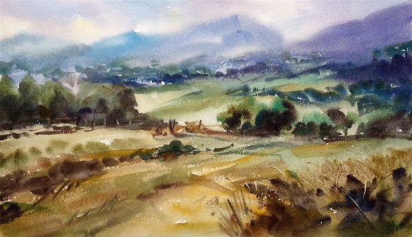 Snowdonia foothills