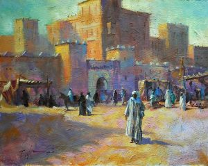 Medina Moroco, original art by Trevor Waugh