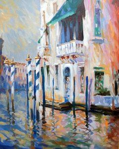 venetian, original art by Trevor Waugh
