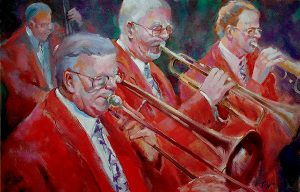 Humphrey littleton Band, painting