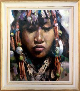 Frame Berber girl