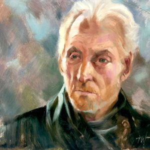 Tywin Lannister oil on board
