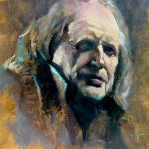 Walder Frey Oil on Board