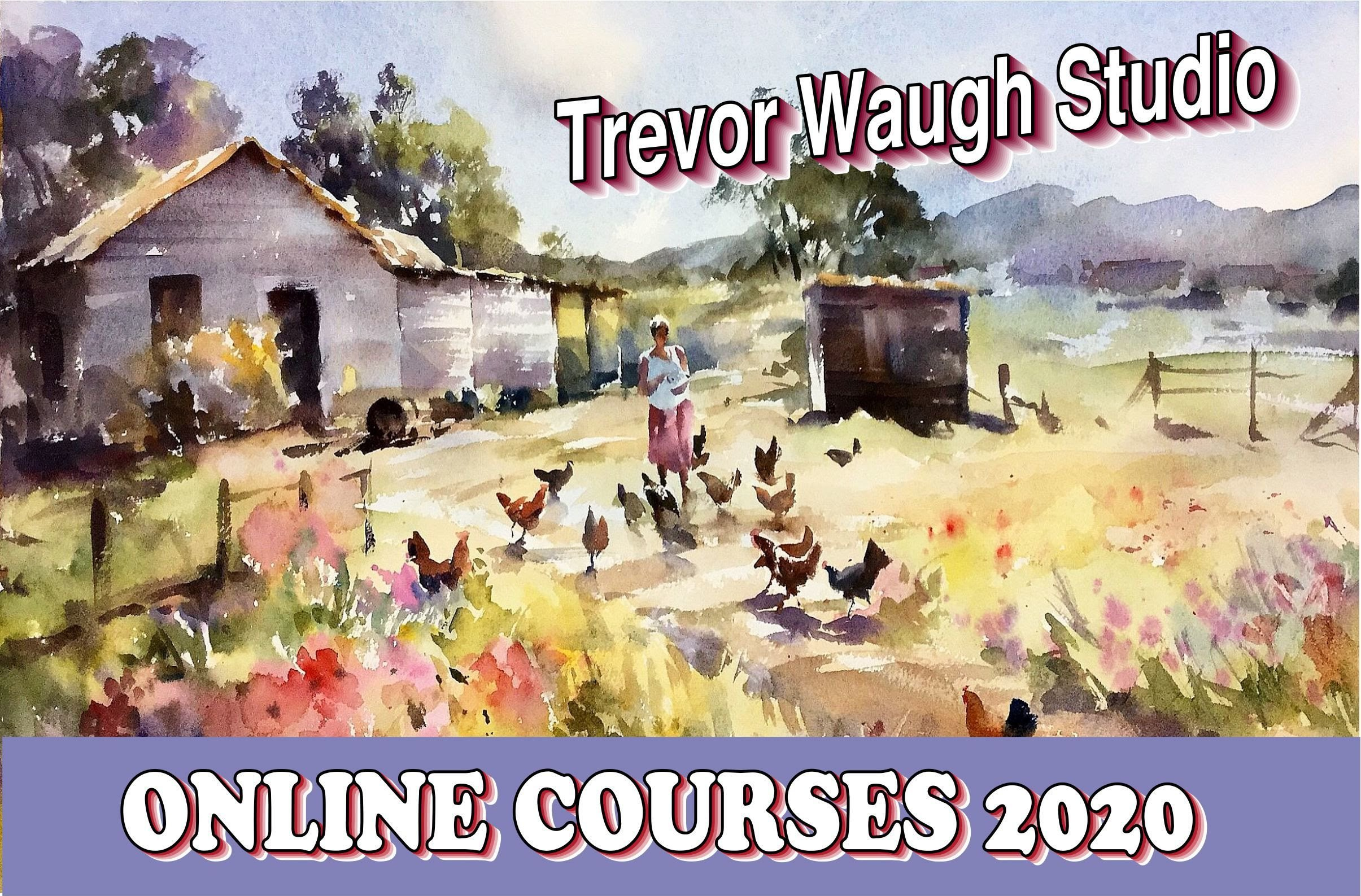 Online art courses - painting 2020