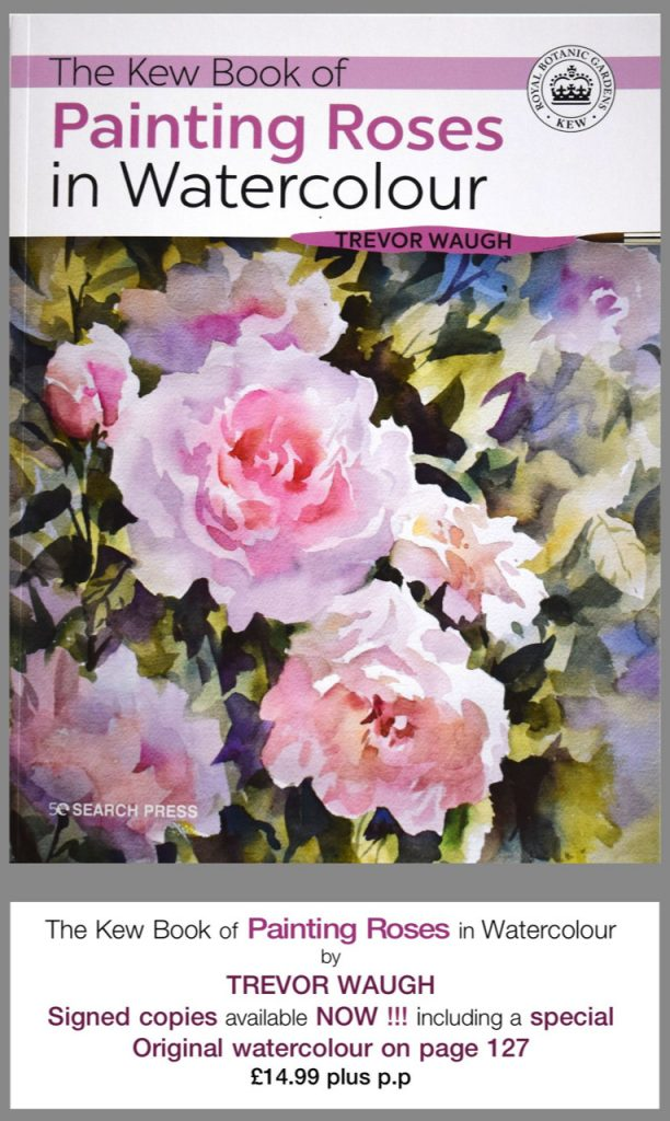 kew rose book by Trevor Waugh