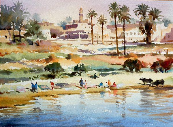 Banks of the Nile, Egypt