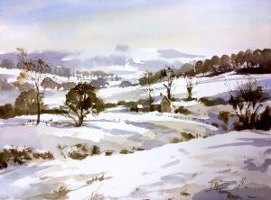 A Cotswold Snow
