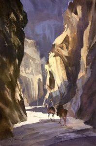Narrow Gorge