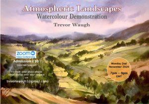 landscape watercolour image for Trevor Waugh Course