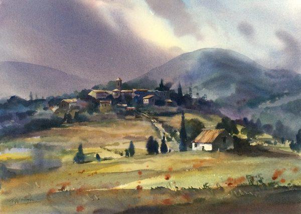 Hilltop Village, Provence