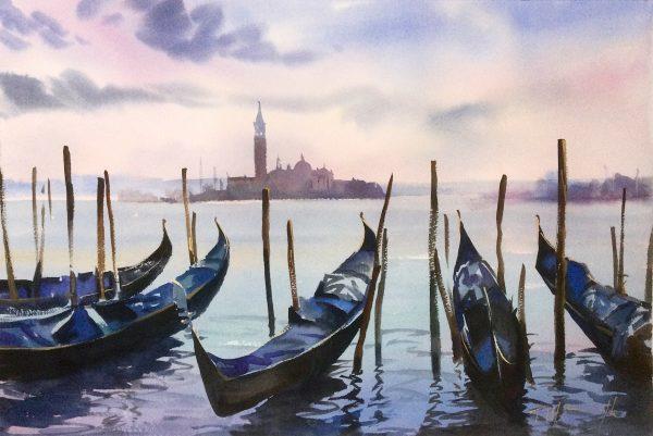 San Giorgio Sunset, Venice