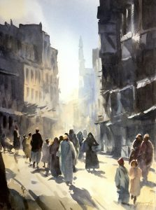 A Street in Old Cairo