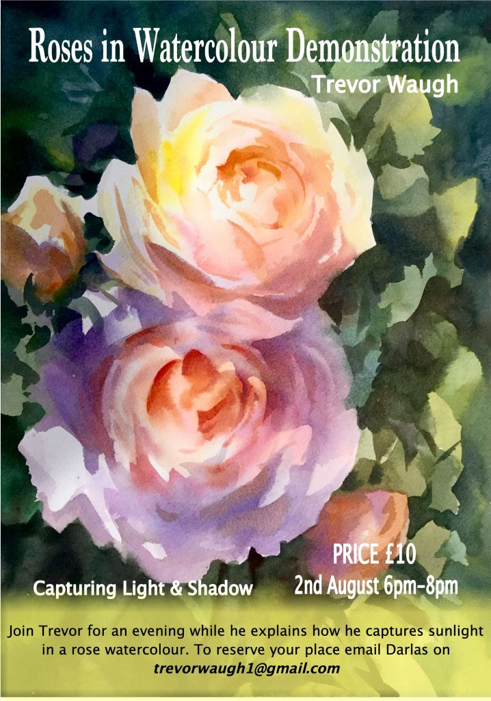 Zoom Demo Capturing Light Roses