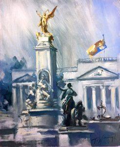 Winged Victory, Buckingham Palace, London
